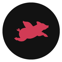 Pigs Can Fly Too Logo